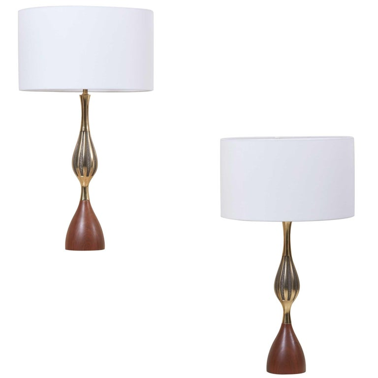 Westwood Lighting: Pair Of Tony Paul Table Lamps For Westwood Lightning, US