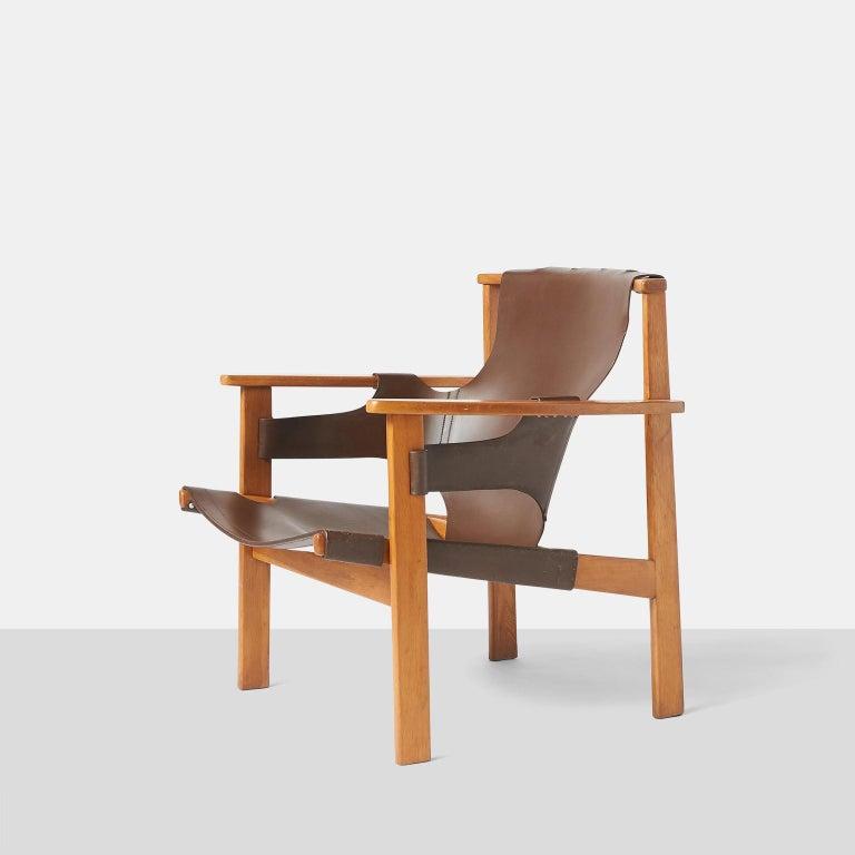 "Scandinavian Modern Pair of ""Trienna"" Armchairs by Carl-Axel Acking"
