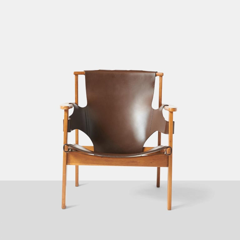 """Swedish Pair of """"Trienna"""" Armchairs by Carl-Axel Acking"""