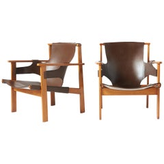 "Pair of ""Trienna"" Armchairs by Carl-Axel Acking"