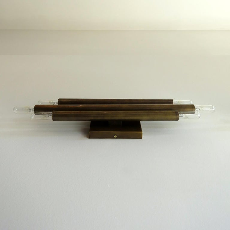 Pair of 'Trinus' Wall Lights by Gallery L7 In New Condition For Sale In Los Angeles, CA