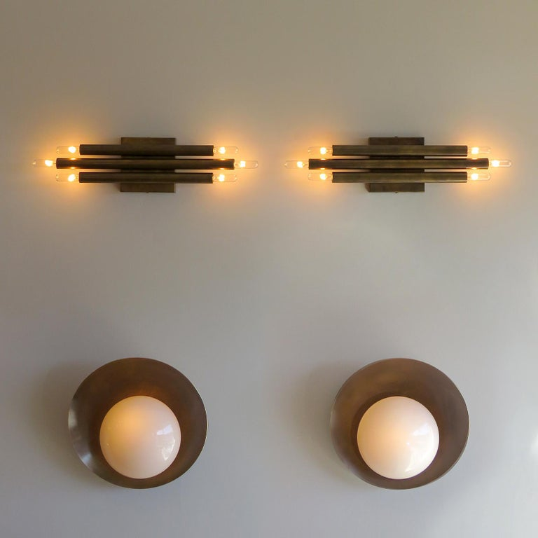 Pair of 'Trinus' Wall Lights by Gallery L7 For Sale 2