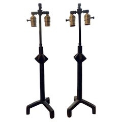Pair of Tripod Table Lamps after Alberto Giacometti