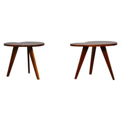 Pair of Tripod Tables, 1960s