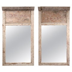 Pair of Trumeau Style Mirrors