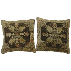 Pair of Turkish Rug Pillows