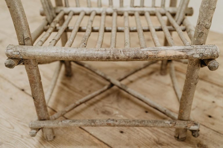 Pair of Twig Armchairs For Sale 7