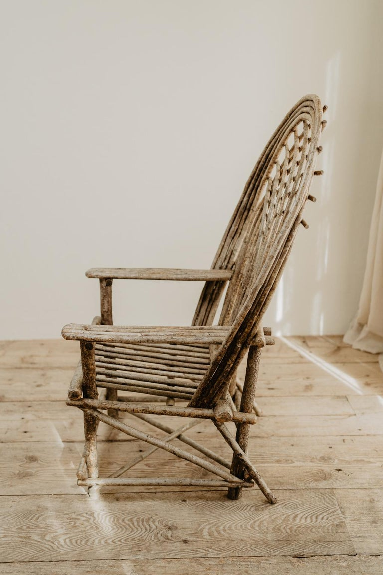 Pair of Twig Armchairs For Sale 13