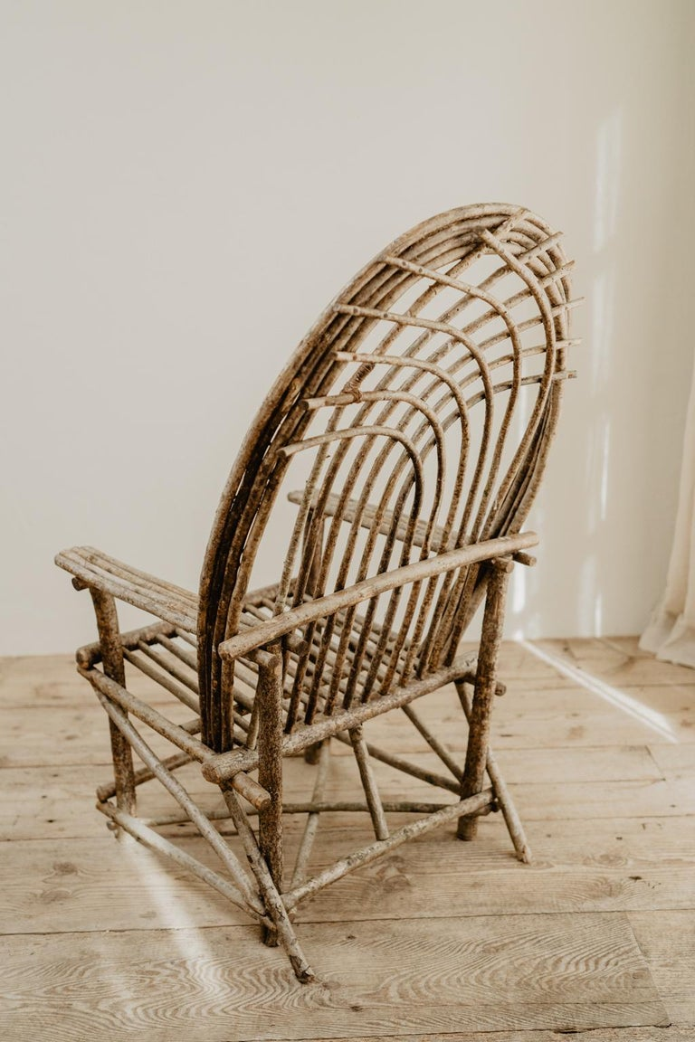 Pair of Twig Armchairs For Sale 15