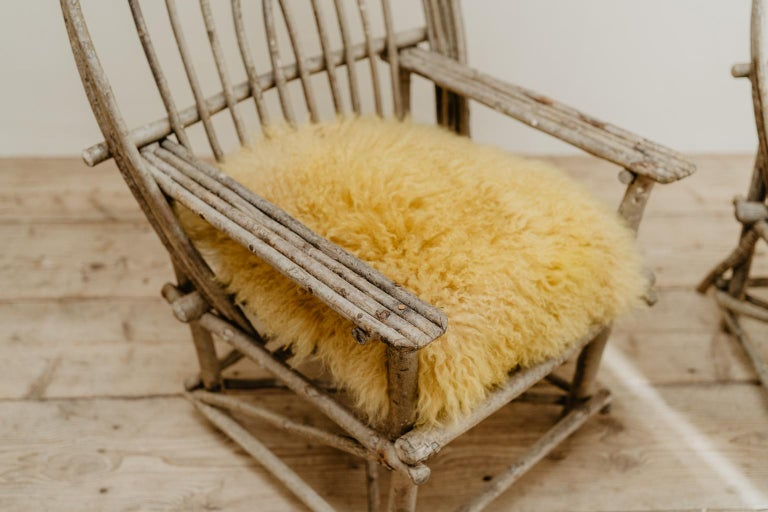 Pair of Twig Armchairs For Sale 2