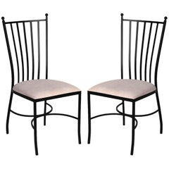 Garden Chairs in Wrought Iron. Indoor & Outdoor