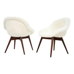 Pair of Two Lounge Chairs by Miroslav Navratil, 1960s