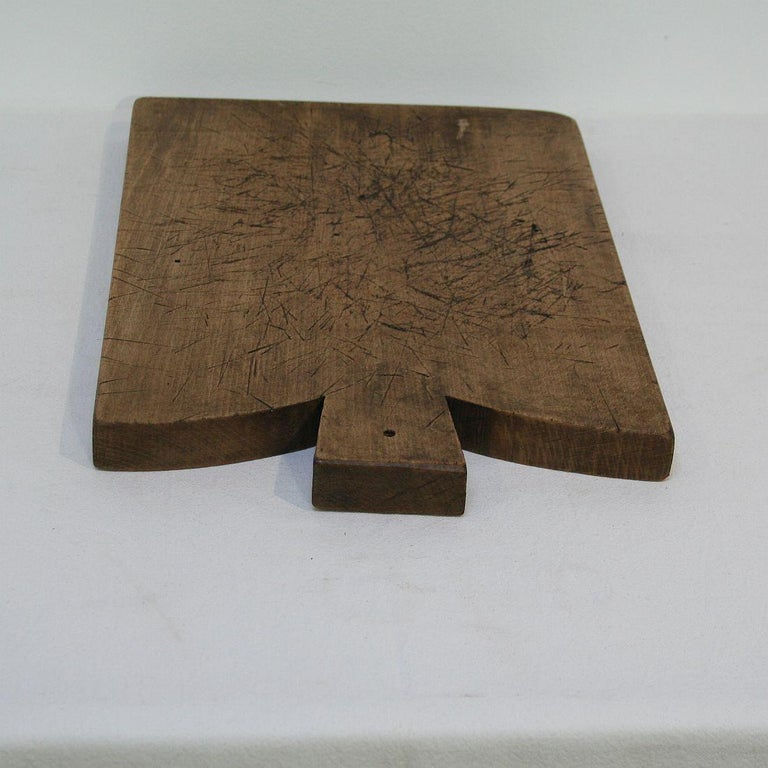 Pair of Two Rare French 19th Century, Wooden Chopping or Cutting Boards For Sale 8