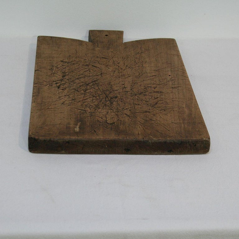 Pair of Two Rare French 19th Century, Wooden Chopping or Cutting Boards For Sale 9