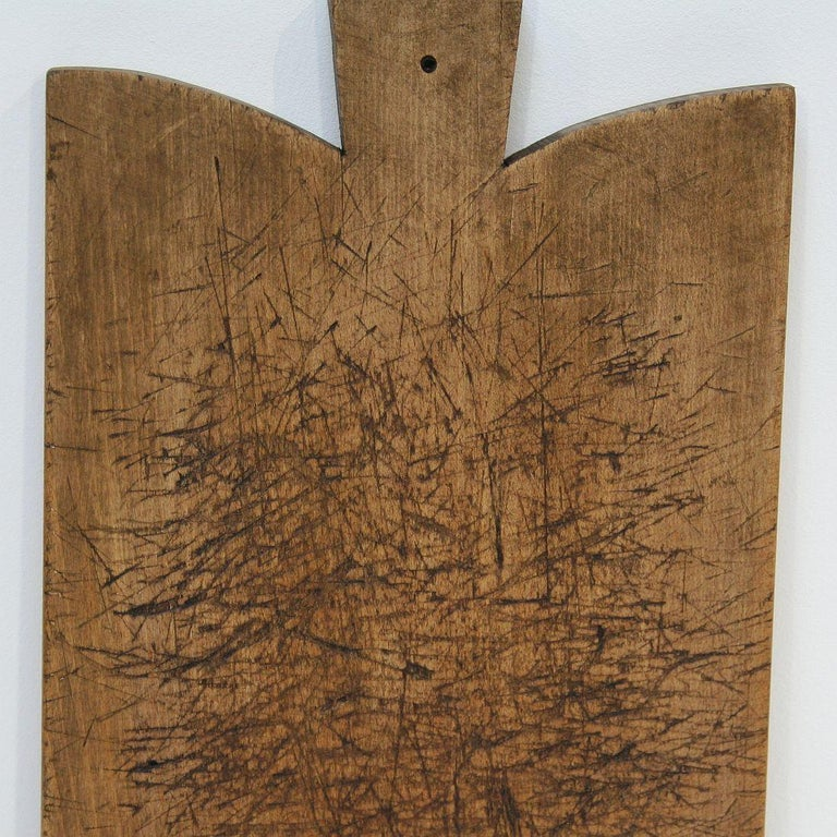 Pair of Two Rare French 19th Century, Wooden Chopping or Cutting Boards For Sale 10