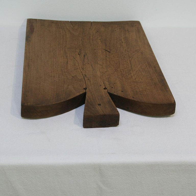 Pair of Two Rare French 19th Century, Wooden Chopping or Cutting Boards For Sale 1