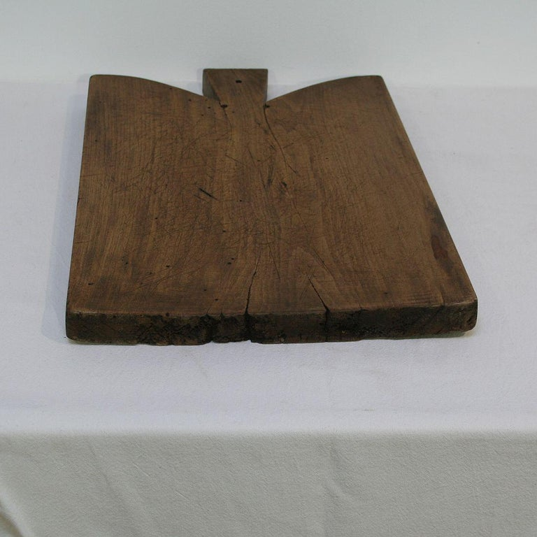 Pair of Two Rare French 19th Century, Wooden Chopping or Cutting Boards For Sale 2