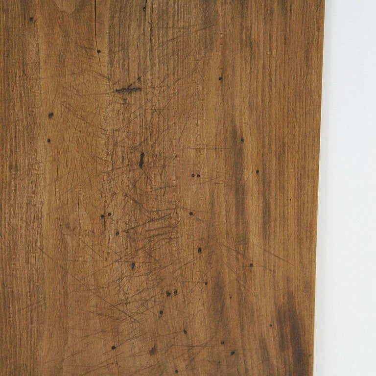 Pair of Two Rare French 19th Century, Wooden Chopping or Cutting Boards For Sale 4