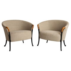 Pair of Umberto Asnago Armchairs