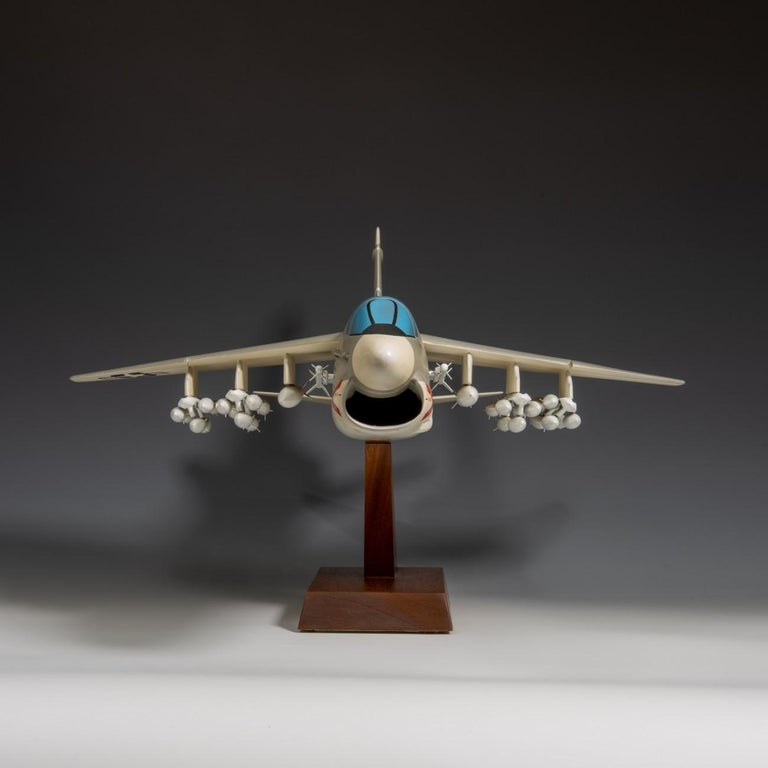 Pair of United States Military A-7 Corsairs Model Aircrafts, circa 1970 For Sale 7