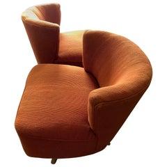 Pair of Unusual Swivel Chairs by Kroehler