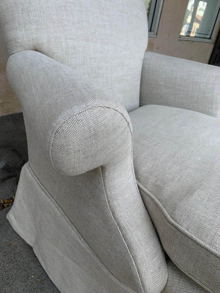 Pair of Upholstered Armchairs by J. Robert Scott For Sale 3