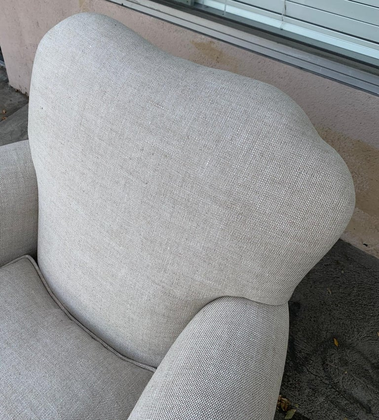 Pair of Upholstered Armchairs by J. Robert Scott For Sale 2