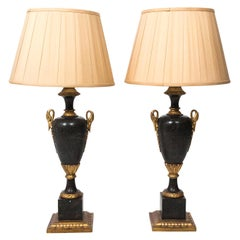 Pair of Urn Shaped Lamps