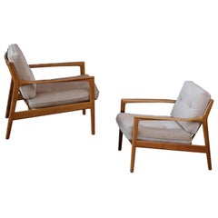 Pair of USA-75 by Folke Ohlsson for DUX, Sweden, 1960s