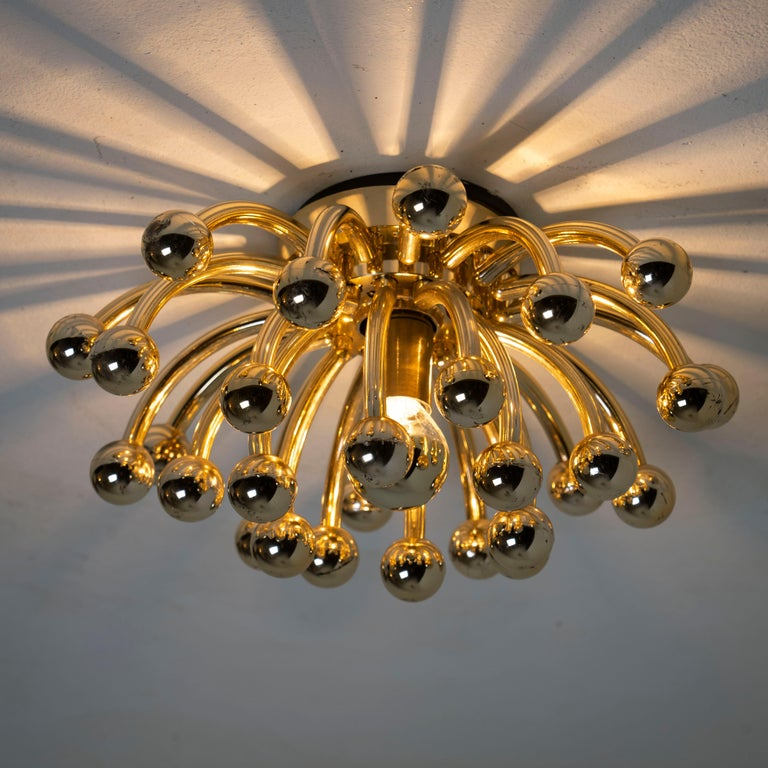 Pair of Valenti Luce Pistillino Wall Lights, Italy, 1970 For Sale 2