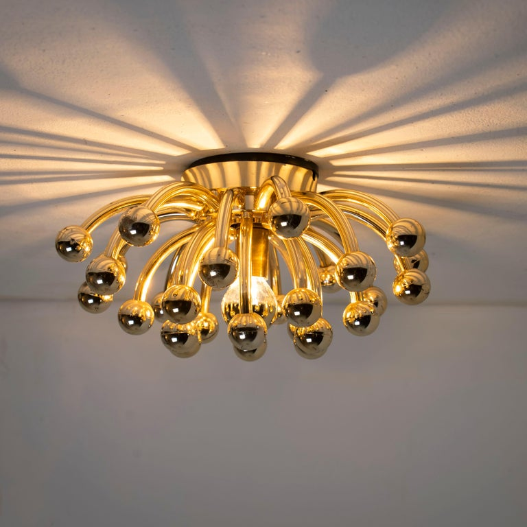 Pair of Valenti Luce Pistillino Wall Lights, Italy, 1970 For Sale 3