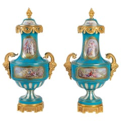 Pair of Vases in Sèvres, Napoleon III