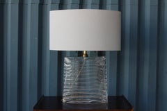 Pair of Vela Venetian Glass Lamps by Donghia, Sold as a Pair