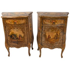 Pair of Venetian Commodes