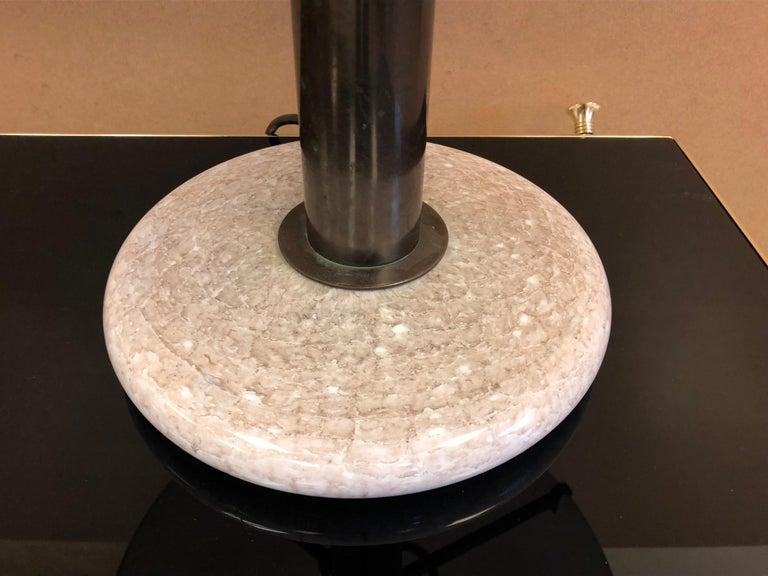 Pair of Venini Glass Mushroom Lamps For Sale 2