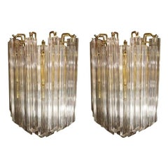 Pair of Sconces in the style of Venini, circa 1960s