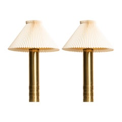 Pair of Very Tall Table Lamps Produced in Sweden