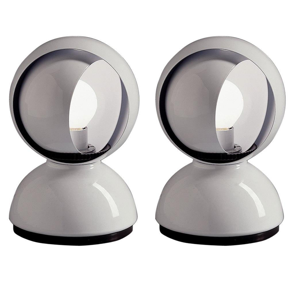 Pair of Vico Magistretti Eclisse Table Lamps for Artemide