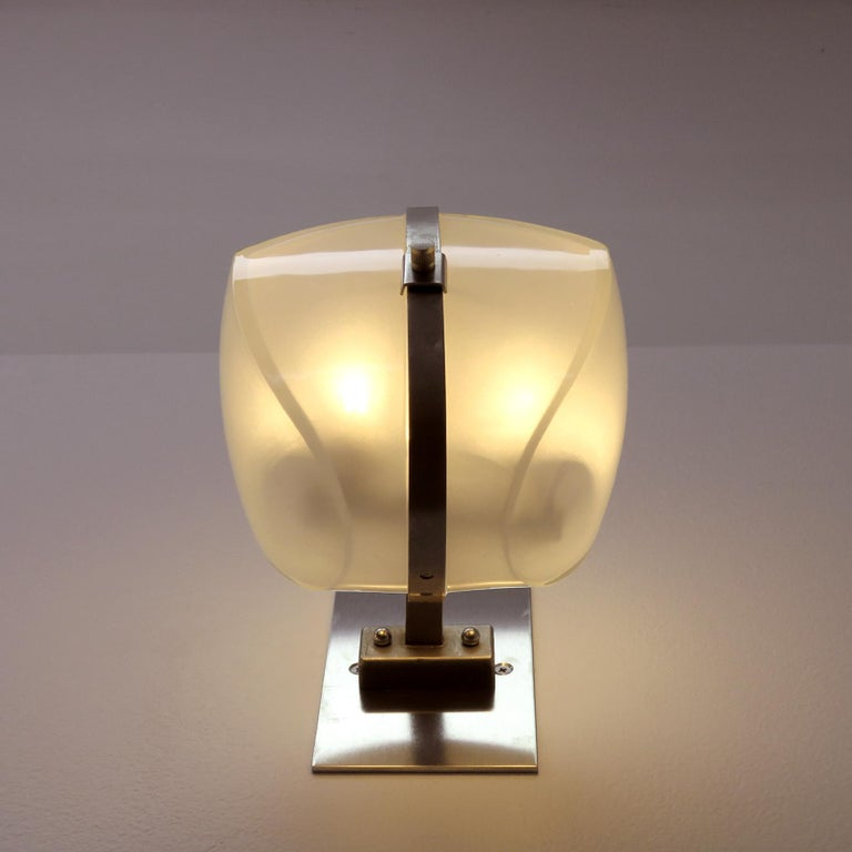 Pair of Vico Magistretti 'Omicron' Wall Lights, 1960 For Sale 7