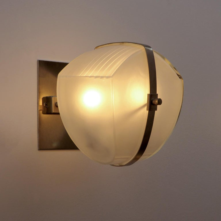 Pair of Vico Magistretti 'Omicron' Wall Lights, 1960 For Sale 6