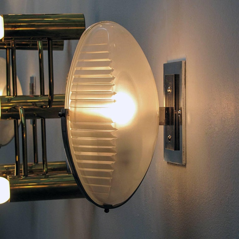 Pair of Vico Magistretti Wall Lights, 1960 For Sale 1