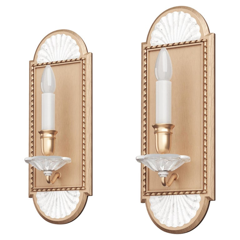 Pair of Victoire Sconces For Sale