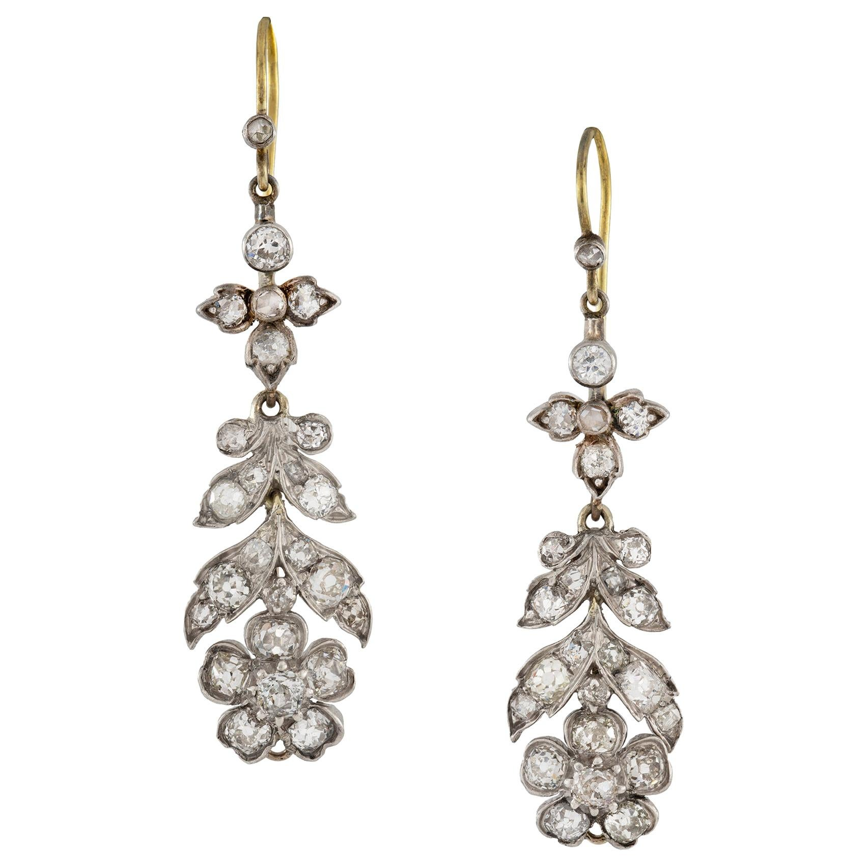 Pair of Victorian Drop Earrings