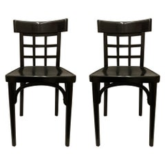 Pair of Vienna Succession Dining Chairs