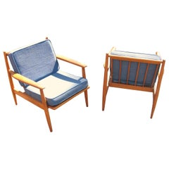 Pair of Viko Baumritter Chairs, Mid-Century Modern Lounge Chair