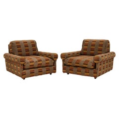 Pair of Vintage 1960's Lounge Armchairs
