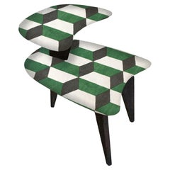 Pair of Vintage 3 Legged Side Tables