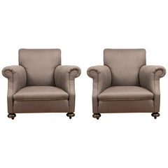Pair of Vintage Armchairs, 20th Century