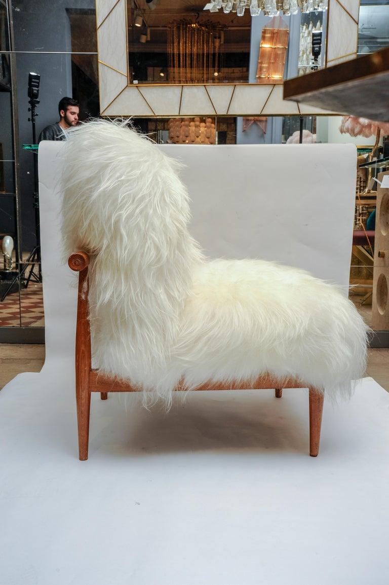 Scandinavian Pair of Vintage Armchairs For Sale