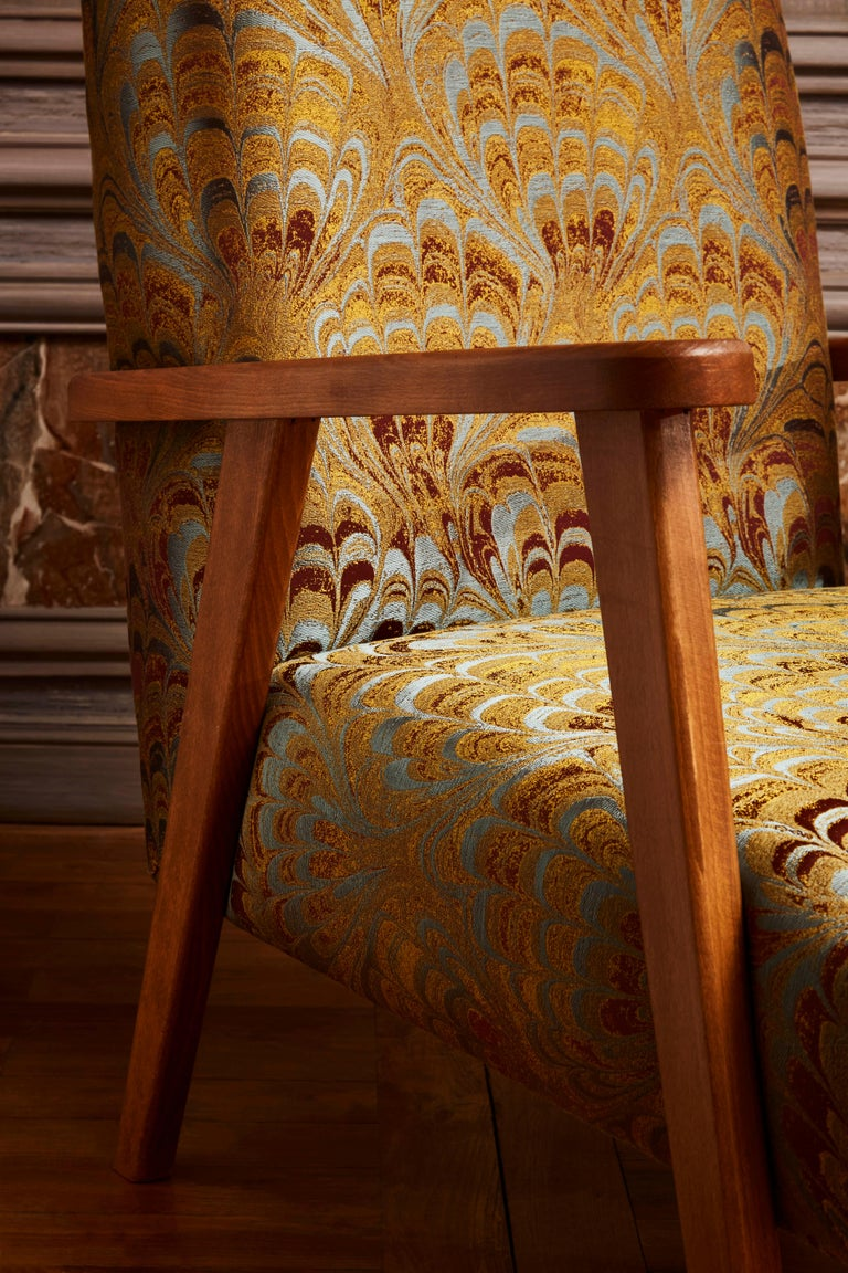 Pair of Vintage Armchairs For Sale 2